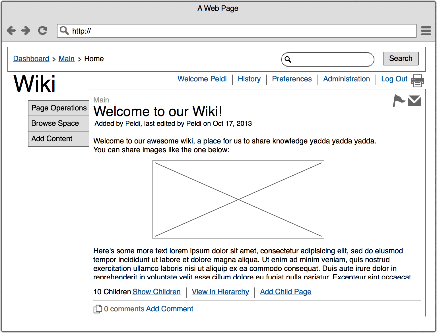 Sourced from <a href='https://support.mybalsamiq.com/projects/examples/grid'>Balsamiq</a>.